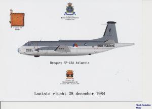 Image not found :Laatste Vlucht 28 december 1984. SP-13A Atlantic 256