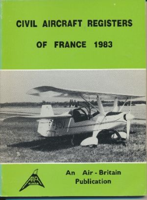 Image not found :Civil Aircraft Registers of France 1983
