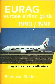 Image not found :EURAG - Europe Airline Guide 1990/1991