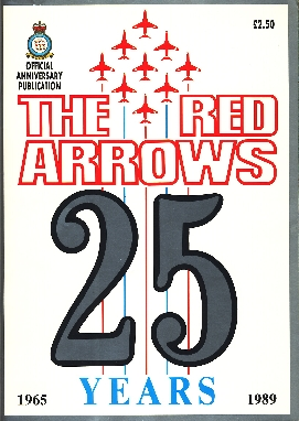 Image not found :Red Arrows 25 Years, 1965-1989