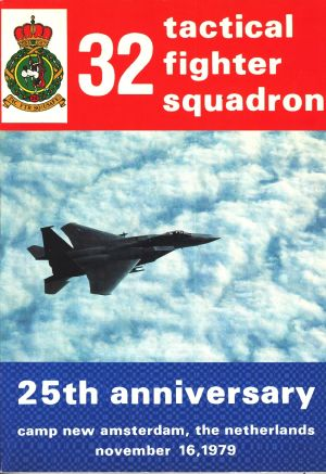 Image not found :32 Tactical Fighter Squadron, 25th anniversary