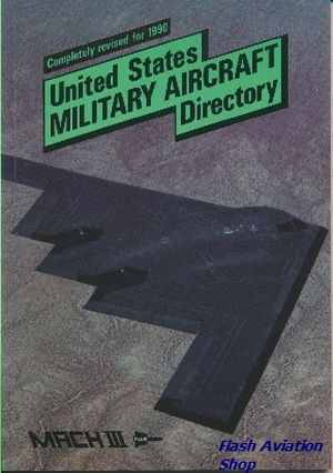 Image not found :United States Military Aircraft Directory 1990 edition