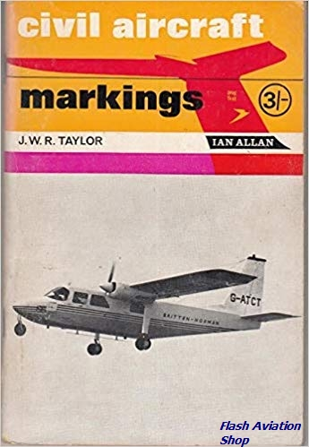 Image not found :Civil Aircraft Markings 1966