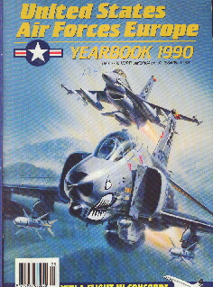 Image not found :United States Air Forces Europe Yearbook 1990