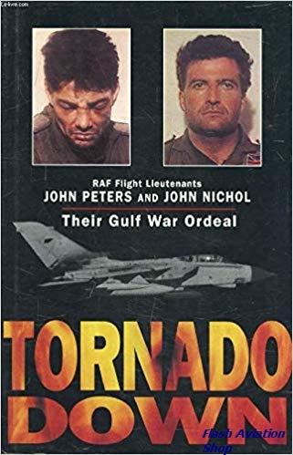 Image not found :Tornado Down, RAF Flight Lieutenants Peters & Nichol
