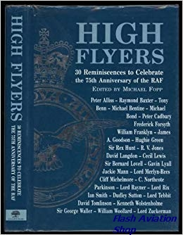 Image not found :High Flyers, 30 reminisences to Celebrate the 75th anniv.RAF