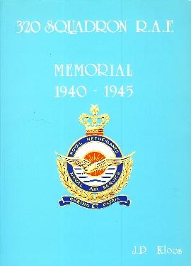 Image not found :320 Squadron R.A.F., Memorial 1940-1945 (2e druk)