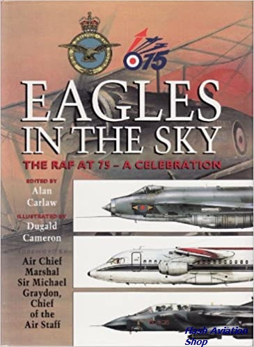 Image not found :Eagles in the Sky: the RAF at 75 - a Celebrartion
