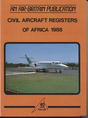 Image not found :Civil Aircraft Registers of Africa 1988