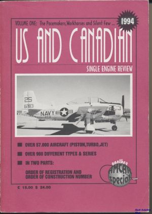 Image not found :US and Canadian Single Engine Review, vol. 1 - 1994