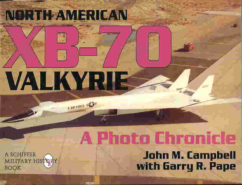 Image not found :North American XB-70 Valkyrie; a Photo Chronicle