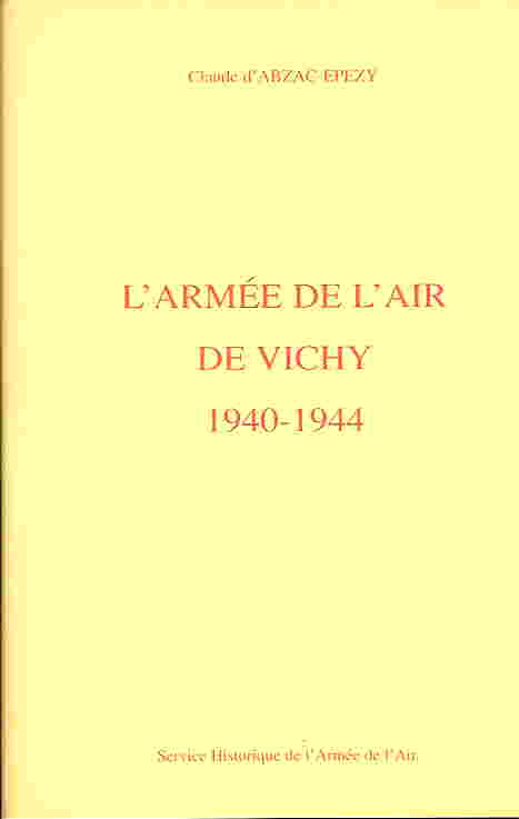 Image not found :L'Armee de l'air de Vichy 1940-1944