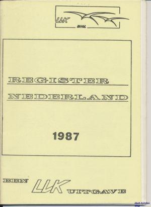 Image not found :Register Nederland 1987