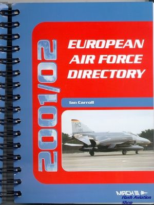Image not found :European Air Force Directory 2001/2002