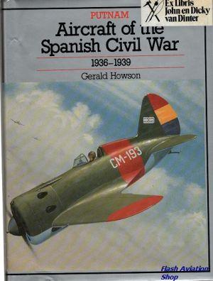 Image not found :Aircraft of the Spanish Civil War 1936-1939 (Ex Libris John)