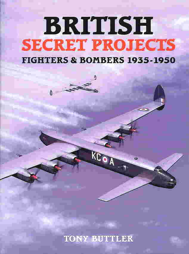 Image not found :British Secret Projects: Fighters & Bombers 1935-1950