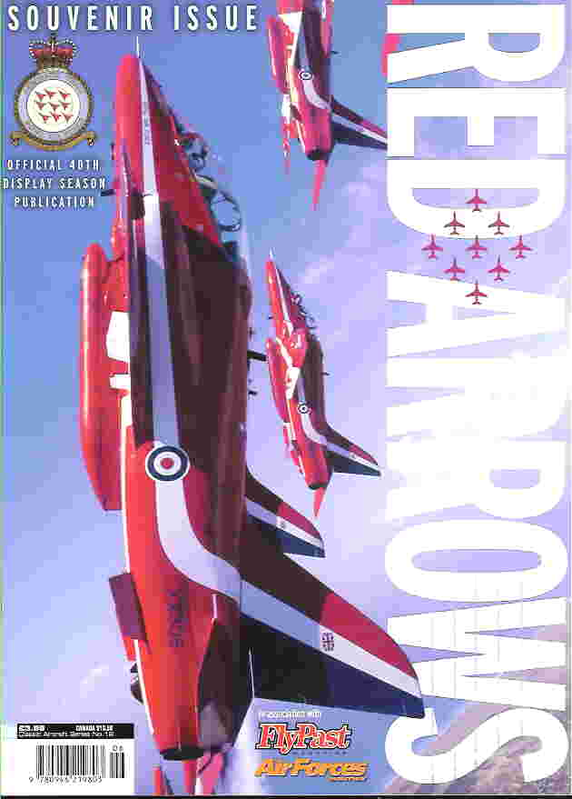 Image not found :Red Arrows, Souvenir Issue, Official 40th Display Season Public.