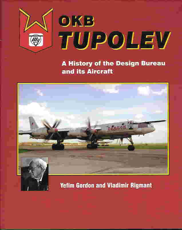 Image not found :OKB Tupolev, A history of the Design Bureau and its Aircraft