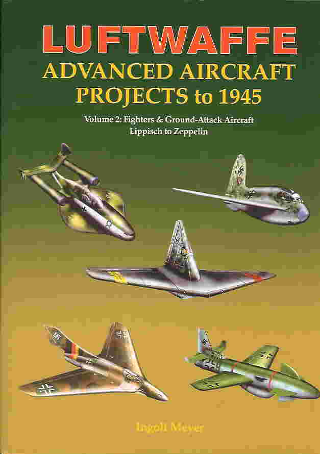 Image not found :Luftwaffe Advanced Aircraft Projects to 1945 vol. II