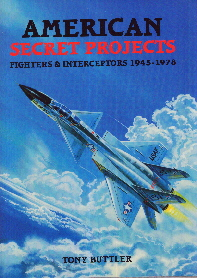 Image not found :American Secret projects: Fighters & Interceptors 1945-1978
