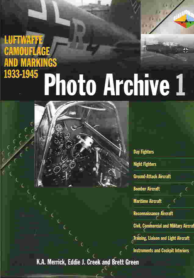 Image not found :Luftwaffe Camouflage & Markings 1933-1945: Photo Archive I