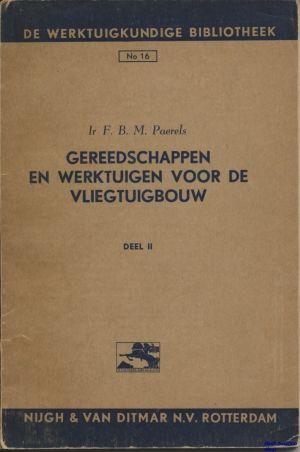Image not found :Gereedschappen en Werktuigen voor de Vliegtuigbouw (Werktuig