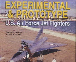 Image not found :Experimental & Prototype, US Air Force Jet Fighters