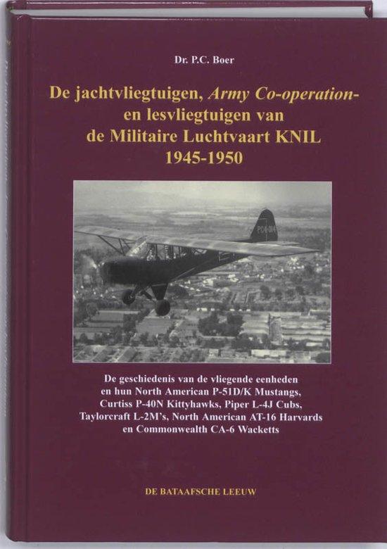 Image not found :Jachtvliegtuigen, Army Co-operation- en lesvliegtuigen ML/KNIL