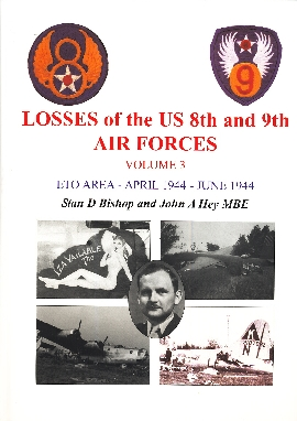 Image not found :Losses of the US 8th and 9th Air Forces Vol 3; April - June 1944