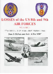Image not found :Losses of the US 8th and 9th Air Forces Vol 4; ETO July - Sep 1944