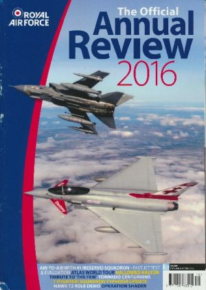 Image not found :Royal Air Force 2016, Official Annual Review