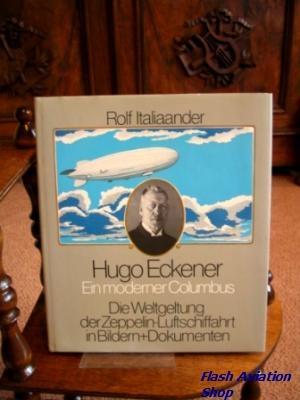 Image not found :Hugo Eckener; Ein moderner Columbus : die Weltgeltung der Zeppelin