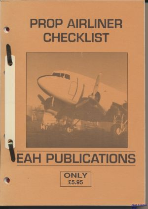 Image not found :Prop Airliner Checklist (1992)
