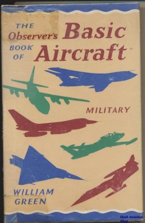Image not found :Observer's Book of Basic Aircraft - Military (1967)(red text)