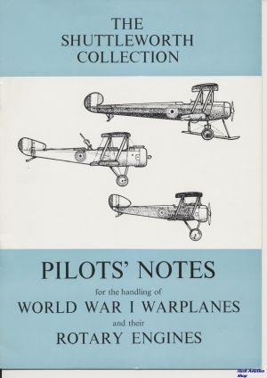 Image not found :Pilot's Notes for the Handling of World War I Warplanes and their