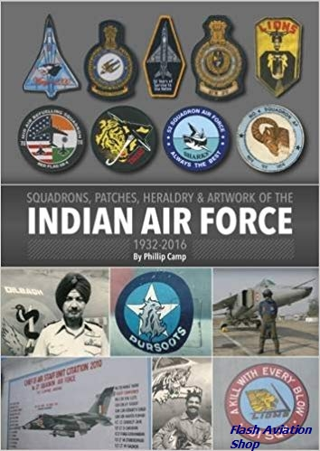 Image not found :Squadrons, Patches, heraldry & Artwork of the Indian Air Force
