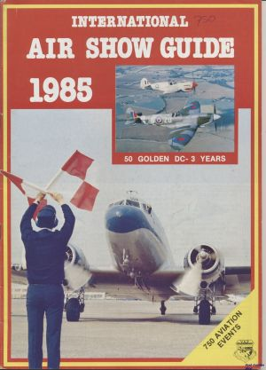 Image not found :International Air Show Guide 1985