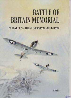 Image not found :Battle of Britain Memorial, Schaffen-Diest 30/06/1990 - 01/07/1990