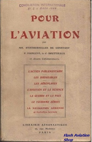 Image not found :Pour L'Aviation par D'Estournelles de Constant (4th edition)