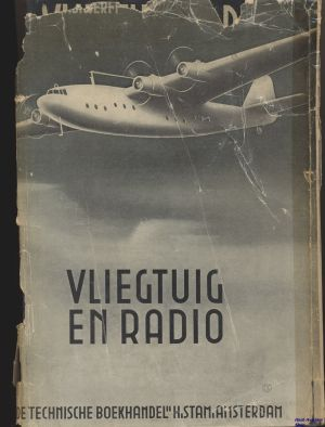 Image not found :Vliegtuig en Radio (dustjacket)
