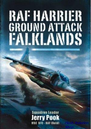 Image not found :RAF Harrier ground attack Falklands (sbk)