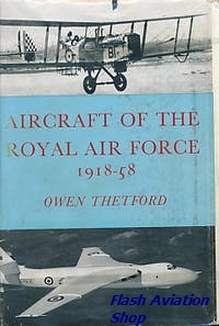 Image not found :Aircraft of the Royal Air Force since 1918 (1957)