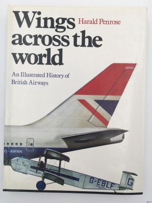 Image not found :Wings Across the World, An Illustrated History of british Airways