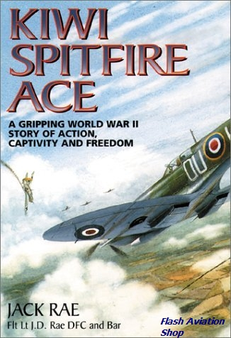 Image not found :Kiwi Spitfire Ace, A Gripping World War Two Story of Action, Capti