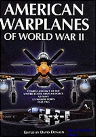 Image not found :American Warplanes of World War II (Grange)