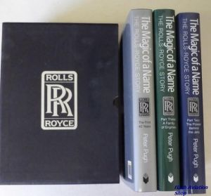 Image not found :Magic of a Name, Rolls Royce Story (Box with part one to three)
