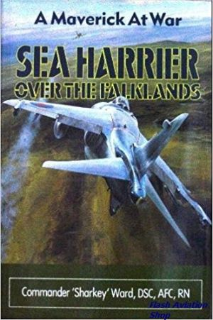 Image not found :Sea Harrier over the Falklands (BCA)