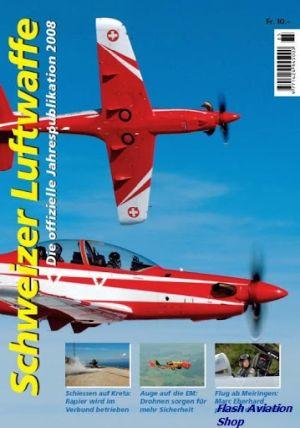 Image not found :Schweizer Luftwaffe, die Offiziele Jahrespublikation 2008