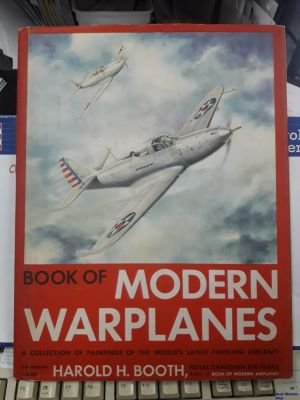 Image not found :Book of Modern Warplanes, A collection of paintings of the world'