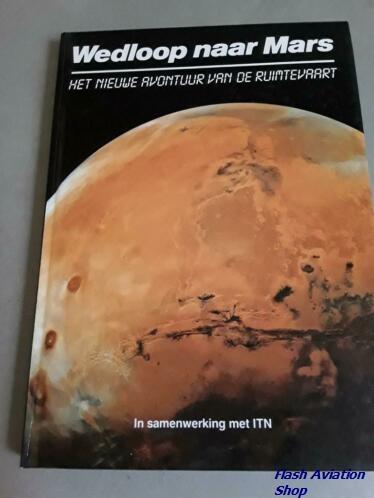 Image not found :Wedloop naar Mars, het Nieuwe Avontuur van de Ruimtevaart